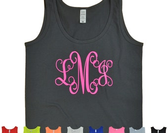 Monogram Tank - Tees2urdoor