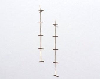 Multi Line Earrings