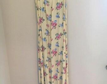 lovely spring maxi dress