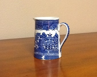 Adorable 1930's Wedgewood Willow Creamer in pristine condition