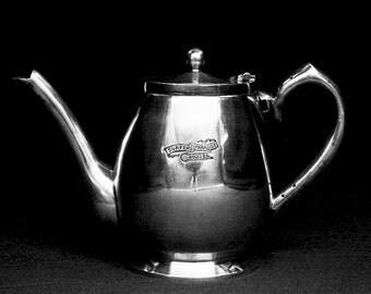 Old Surfers Paradise Hotel Silver Tea Pot circa 1960s