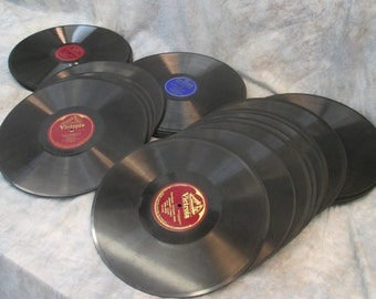 51 Vinyl Records Religious Classical Waltz More Vintage Victor Victrola Columbia