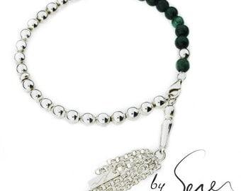 TSP Malachite bracelet