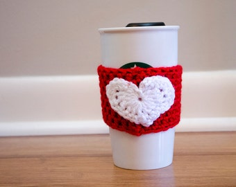 Reusable Drink Sleeve // Holiday Love