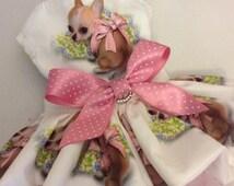 How Cute Am I Chihuahua Dog  Dress /Harness