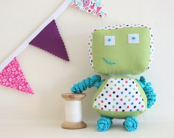 Children's Soft Toy with Interchangeable Head & Body