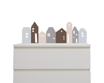 Wandsticker Tipi Passend Für Ribba / Mosslanda Bilderleiste Ikea Online Babyzimmer