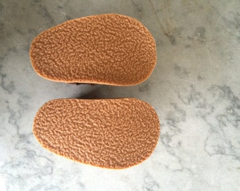 Do not purchase alone, just rubber soles. This listing does not include the moccasins.