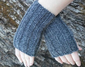 Knit, Fingerless Gloves, One Size Fits All, Handmade, Arm warmers, Winter wear