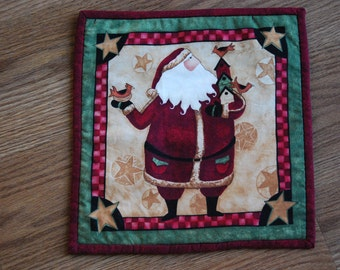 Father Christmas Table Mat, Father Chirstmas Placemat, Santa Table centrepiece