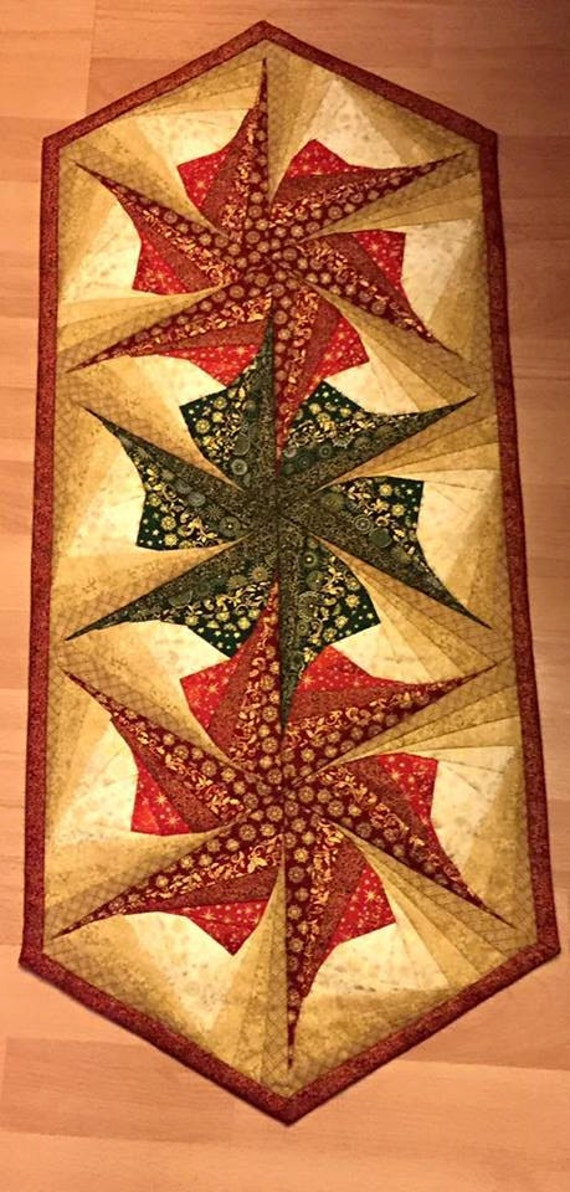 Twisted Log Cabin Poinsettia Table Runner Pattern Table : twisted log cabin quilt - Adamdwight.com