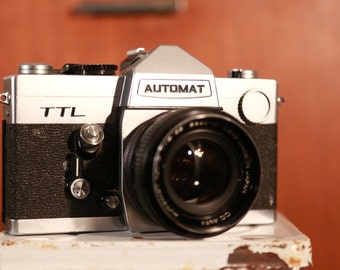 Automat TTL 35mm SLR Camera with Automat 55mm f/1.8 Lens #O38