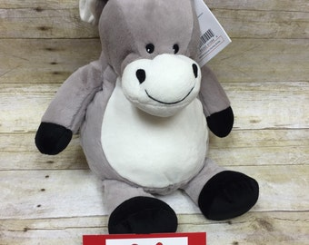 Embroider Buddy Personalized Stuffed Donkey - adorable baby gift!