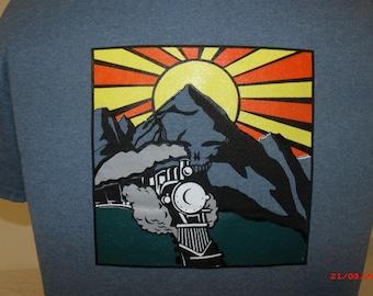 Grateful Dead inspired He's Gone shirt.