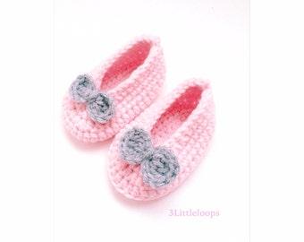 Handmade Baby Booties -Crochet booties-Baby shoes