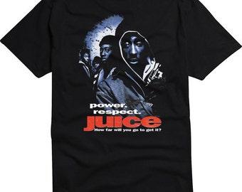 Original Juice Tupac 2pac Movie Poster Shirt, Short Sleeve Or Tank Top