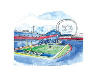 Buffalo Bills Stadium print