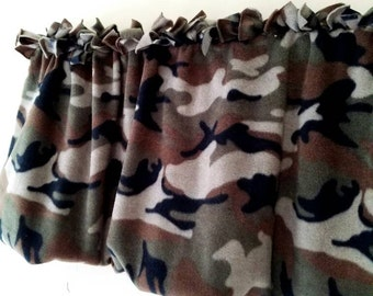 Curtains Ideas cheap camo curtains : Christmas valance | Etsy