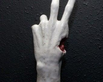 Left 2 Die Left 4 Dead 2 Zombie Hand Sculpture