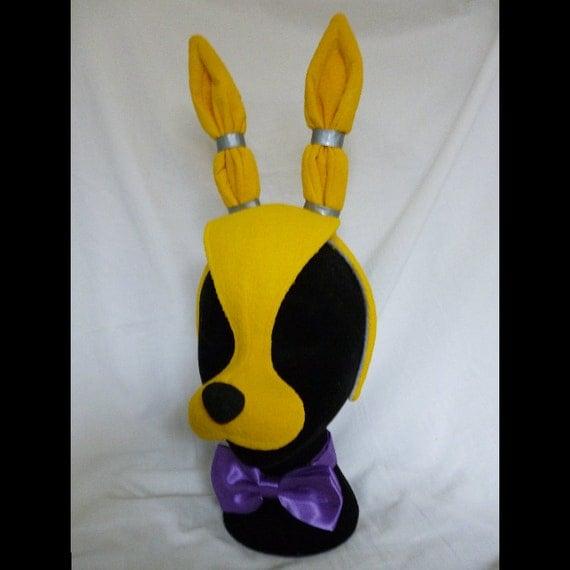 Five nights at freddy s spring bonnie mask by shopbhawk on etsy