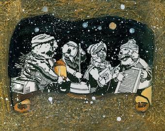 """Jug Band Christmas - """"Moonshinin"""""""