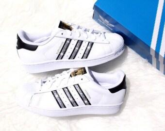 Women's Adidas Original Superstar with Swarovski Crystals