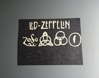 Led Zeppelin Marker Drawing