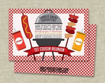 Picnic/BBQ Cookout Digital Download