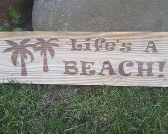 Custom Engraved Cedar Wood Sign - Engraved Wood, Cedar, Dog, Cat, namesake, etched wood, etched cedar, Sandblast