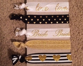 Bride Hair Ties
