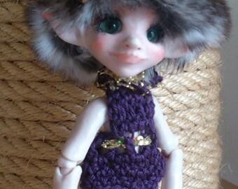 OOAK BJD Art Doll Fairy Elv Petite