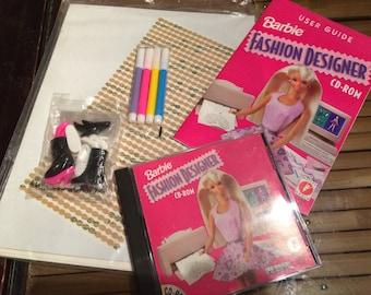1996 Barbie Fashion Designer Kit