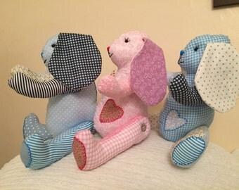 Personalised Decorative Soft Bunny Rabbit