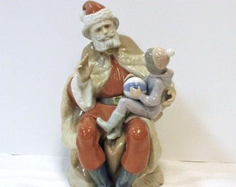 A Christmas Wish - Lladro - Retired 1998, made in Spain, porcelain figurine