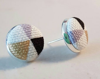 Funky Fabric Earrings