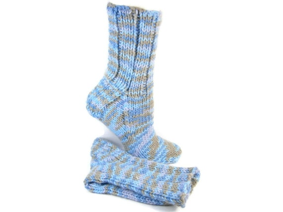 Knitting Pattern For Ski Socks : Unique Ski Socks Hand Knit Men or Women Handmade by PEIsocks