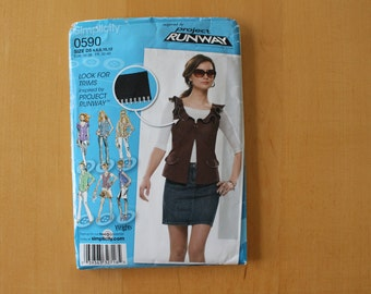 Simplicity 0590 OOP-  Project Runway, Sizes 4-12