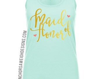 Maid of Honor Ideal Racerback - The Katie Collection