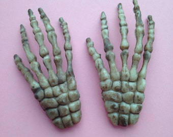 Skeleton Hand Large Cabochons
