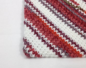 Crochet Hot Pad, crochet potholder, Handmade potholder, blue potholder, crochet trivet,Kitchenware Crochet Pot Holder