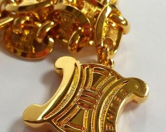Vintage Céline Chunky Chain Belt/Necklace