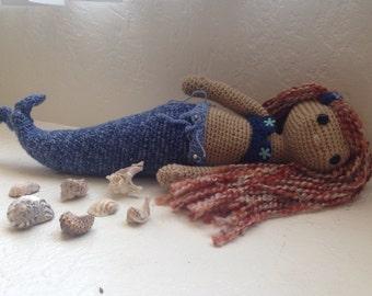 Mermaid amigurumi doll
