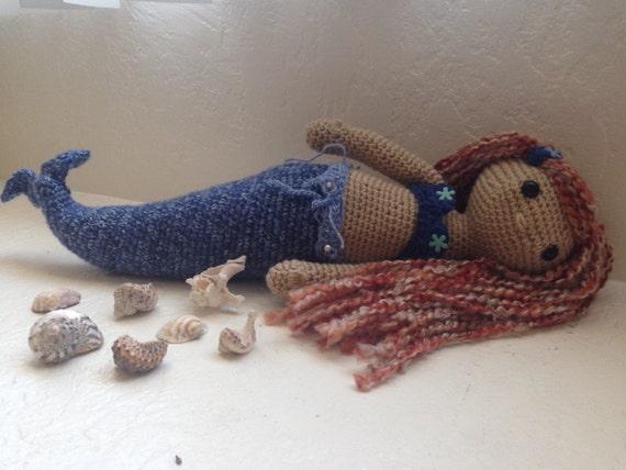 Amigurumi Mermaid Tail : Mermaid amigurumi doll