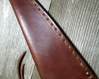 Leather Sheath for Large Spear Tip without Embossing