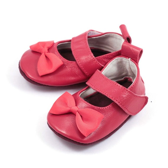 Scarlet Red Mary Jane Shoes Baby Girl Elkkidsboutique