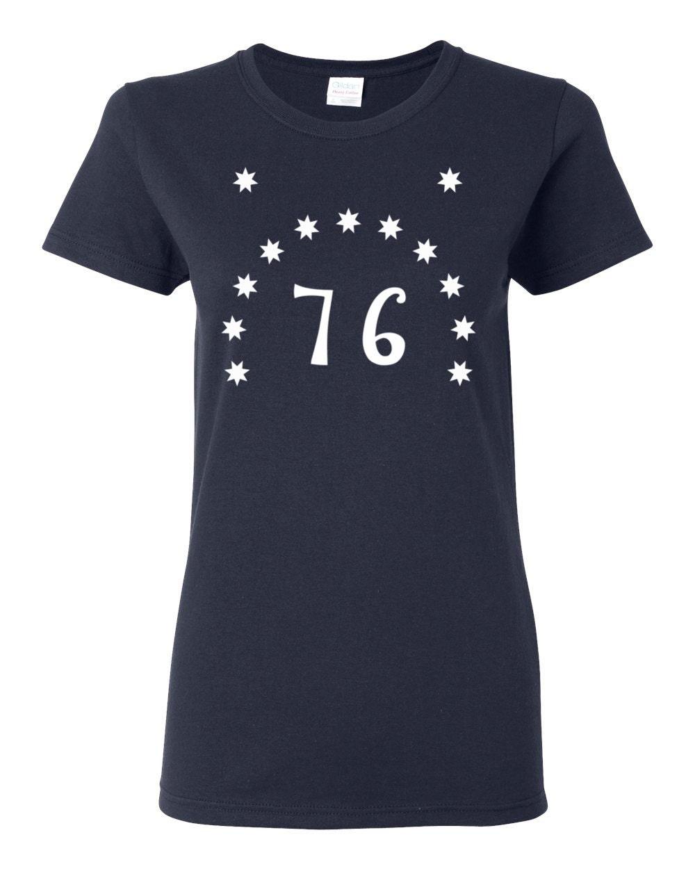 Historical Bennington Flag - US History Womens T-shirt