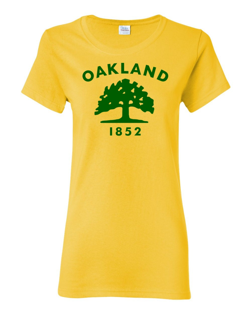 Oakland T-shirt - Oakland California City Flag Womens T-shirt