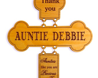 Custom Gift to my Aunt,Wall Cross Gift,Aunt Appreciation Gift, KeepsakeGift to my Aunt, Mothers day Aunt Gift,Personalized Aunt gift.