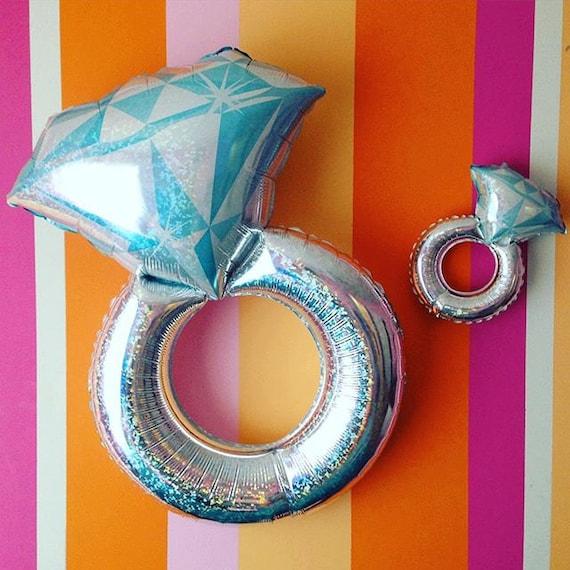 38 engagement ring balloon jumbo balloon balloon