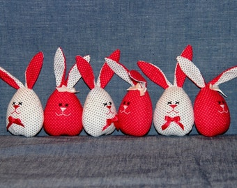 Egg-size Easter Bunnies - price per one